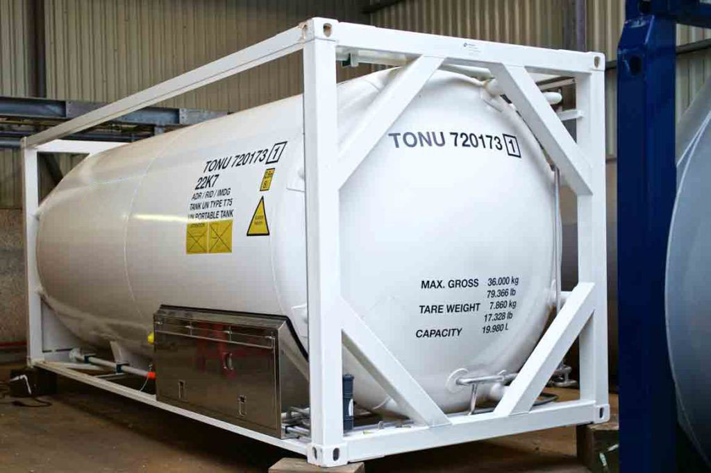 Bofort rental and leasing services of Argon ISO tank containers