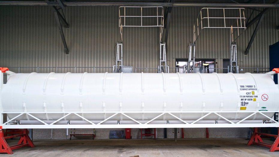 40 FOOT Cryogenic ISO Container BOFORTCRYOGENICS
