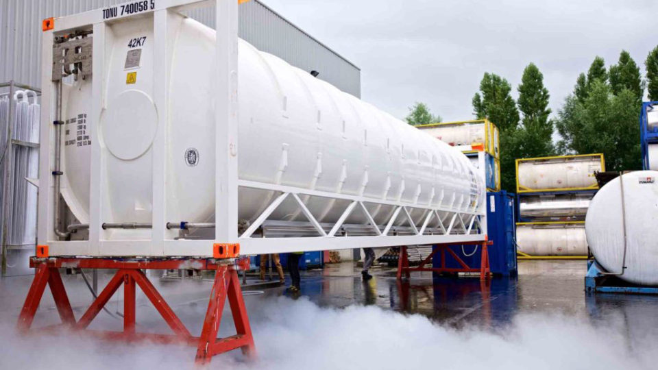RENTAL SERVICES FOR 40 FT CRYOGENIC ISO TANK CONTAINERS