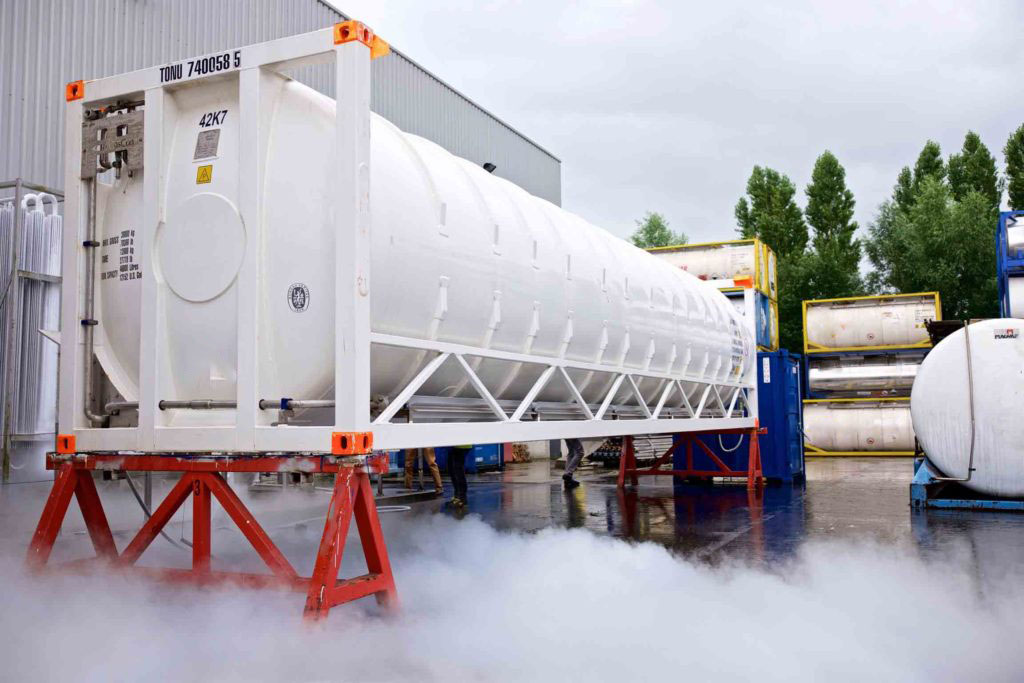 40 FOOT Cryogenic ISO Container BOFORTCRYOGENICS